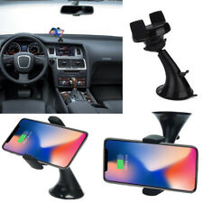 Rapid Qi Wireless Fast Car Charger Mount Holder Stand For Samsung For iPhone X