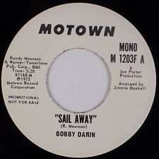 Bobby Darin: Sail Away Us Motown M 1203F Promo 45 Nm- Rock Pop