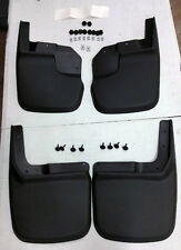 SALE HUSKY Mud Flap Guards Jeep Wrangler JK & Unlimited 07-17 FRONT & REAR SET