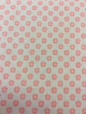 Liberty of London Floral Dot Fabric In Pink By Half Meter