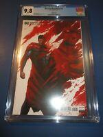 DCeased Dead Planet #2 Mattina Variant CGC 9.8 NM/M Gorgeous Gem Wow