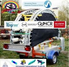 Four Bed Mobile Trailer Mounted Bungee Trampolines, FULL ADIPS DESIGN REVIEW