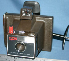 Vintage Polaroid Super Swinger Land Camera - Black and White Type 87 Film Only