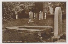 Stirlingshire postcard - Rob Roy's Grave, Balquhidder - RP (A818)