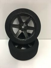 ULTI 1/10 Front On Road Racing wheels w/ foam tires Set (2) #10F-38-H OZ RC
