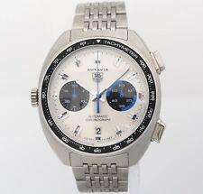 42mm TAG Heuer AUTAVIA CY2110 Re-edition Jo Siffert Automatic Chronograph Watch