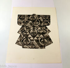 Photogravure kimono papier épais - Tirage de 1940 - 26