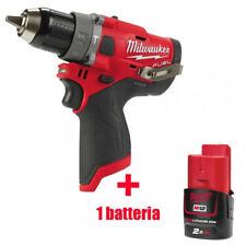 Milwaukee combustible martillo percutor compacto a Batería M12 Fpd-0