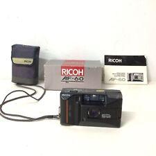 Ricoh AF-60 35mm Point & Shoot Camera in Original Box #604