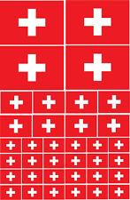 Suiza / Swiss-Europa / europea temática Multi Pack pegatina de vinilo