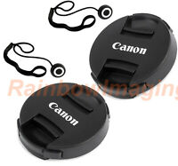2 Packs x 72mm Snap-On Front Lens Cap &Keeper for Canon EF/EFS Lens US Seller