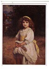 Art Postcard: The Orphans - Millais