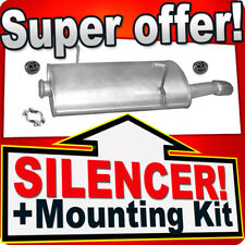 Rear Silencer PEUGEOT 206 & CC 1.6 2.0 HDI & 206+ 1.4 HDI 99-10 Exhaust Box DER