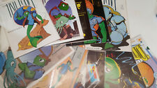 THE FISH POLICE LOT 1 - 9 # 1 2 3 4 5 6 7 8 9 + COMICO SPECIAL fishwrap presents