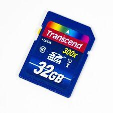 Transcend 32GB SDHC Class 10 300x Memory Card