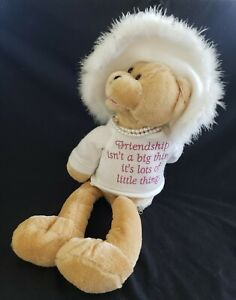 """Pbc Chantilly Lane Musicals """"That's What Friends Are For"""" Pearl's Wisdom Bear"""
