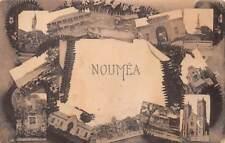 NOUMEA, NEW CALEDONIA, MULTI-VIEW, SHOWING VARIOUS TOWN BUILDINGS, c. 1904-14