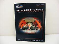 NEW DODGE MOPAR R3 RACE ENGINE 358 BUILD UP MANUAL NASCAR VINTAGE OVAL 062116-3