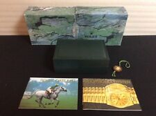 ROLEX WATCH BOX MONTRES ROLEX S.A GENEVE 68.00.01 + 2 BOOKLETS + TAG + FREE SHIP