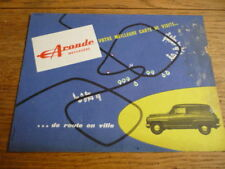 SIMCA ARONDE MESSAGERE Van Brochure