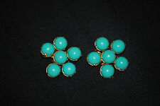 Vintage Costume Jewelry Earrings, marked pat 1987965