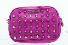 Rampage Pink Spikes Studs Cross Body Handbag Purse NWT MSRP $59