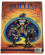 Vintage Duelist Magazines #4 Magic The Gathering MTG Cards - w/ Poster - No Card