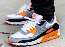 Men's Nike Air Max 90 Recraft Total Orange Size 9 CW5458-101 Sold Out Limited