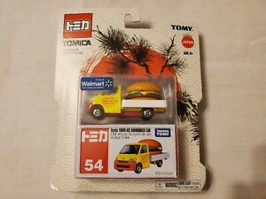 Tomica Tomy Toyota Town Ace Hamburger Car No.54 Scale 1:64 Walmart Exclusive 8+