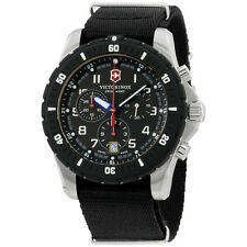 Victorinox Swiss Army Black Dial Black Nylon Strap Men's Watch 2416781