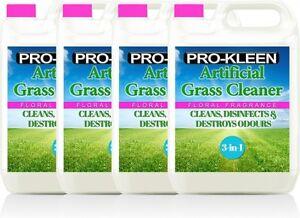 ARTIFICIAL GRASS CLEANER LAWN ASTROTURF PET DISINFECTANT DEODORISER FLORAL 20L