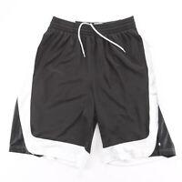 ADIDAS Basketball Black Regular Sports Woven Shorts Mens L W34