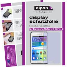 1x Samsung Galaxy S WiFi 4.2 Pellicola Prottetiva Transparente Proteggi Schermo