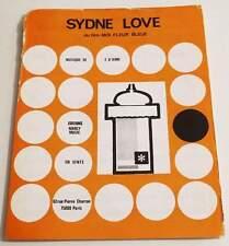 Partition sheet music FRANCOIS D'AIME : Sydne Love BO Moi Fleur Bleue * 1977