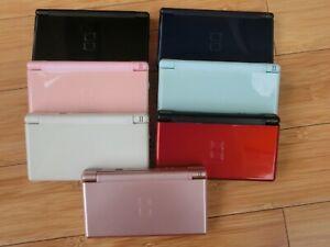 Nintendo DS Lite NDSlite Konsole (gebraucht), Farbe nach Wahl, mit USB-Ladekabel