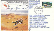 19 NOV 1980 60th ANN QUEENSLAND & NT SIGNED BY HUGHIE EDWARDS VC FLOWN  COVER