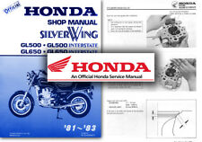 Honda GL500 GL650 Silverwing Service Workshop Repair Shop Manual GL 500 650 Shop