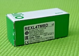 SCHNEIDER ELECTRIC REXL4TMBD TIME DELAY RELAY, 4PDT, 100HOUR, 24VDC