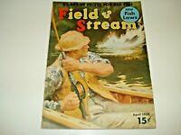 Vintage 1939 Issue of Field & Stream Magazine
