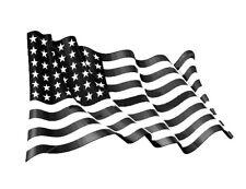 high detail airbrush stencil american flag. FREE UK POSTAGE