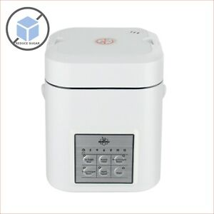 De-Sugar Mini Rice Cooker Low Sugar Starch Rice Soup Congee Steamer 1~2 People