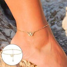 Women Girls Butterfly Anklet Bracelet Anklet Chain Anklets Foot Jewelry Popular