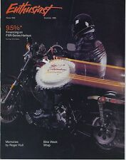 (39A) ENTHUSIAST - HARLEY DAVIDSON - SUMMER 1986