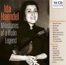 Ida Haendel : Ida Haendel: Milestones of a Violin Legend CD Box Set 10 discs