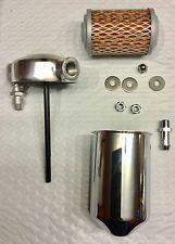 Harley Oil Filter Kit Panhead 1948 & 49 Rigid Tank Mount Cannister OEM# 63800-48
