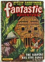 Fantastic Adventures December 1945 Vol. 7 No. 5 Pulp Magazine Don Wilcox
