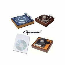 GARRARD TURNTABLE RECORD PLAYER USER SERVICE MANUALS ON CD