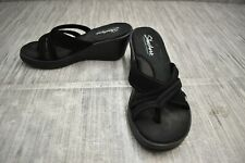 Skechers Rumblers Young At Heart (38465W) Sandal - Women's Size 8 - Black
