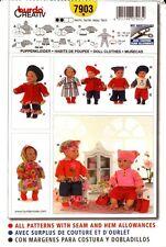 Burda Sewing Pattern 7903 Doll Clothes