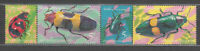 Thailand - Mail Yvert 2240/3 MNH Fauna Insects